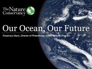 Slide Deck: TNC's Ocean Agenda
